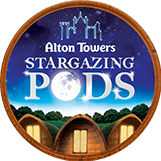 Alton Towers Stargazing Pods