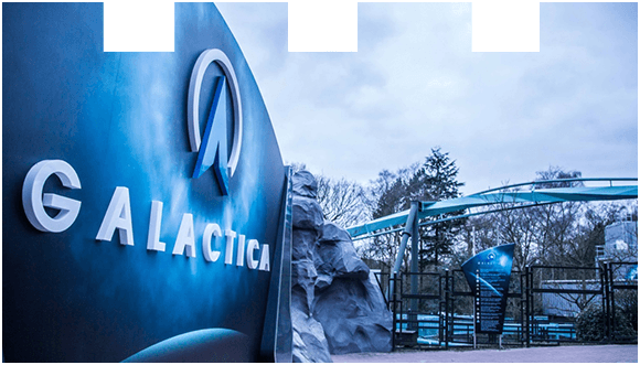 Ride Galactica at Alton Towers Resort