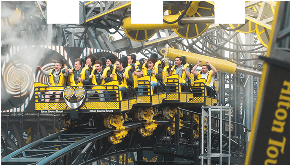 Ride The Smiler at Alton Towers Resort
