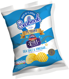 Sea Salt & Vinegar - Seabrook Crisps