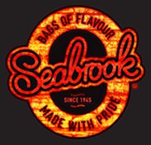 Seabrook Crisps Fiery Logo