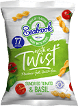 Sundried Tomato &amp Basil Flavour - Twists